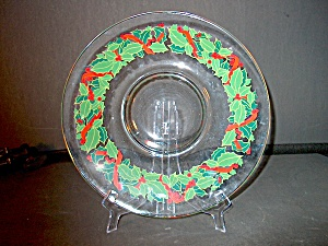 Christmas Platter Avon Hostess Collection