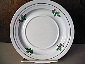 Holiday Hostess Christmas Tree Saucer