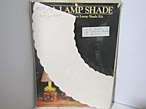 Vintage Craft Pierce Lamp Shade Paper Kit (Image1)
