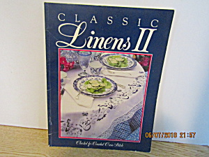 Craft Book Classic Linen's Ii Counted Cross Stitch