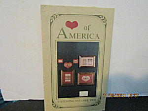 Packet Heart Of America Stitching Satchel Two
