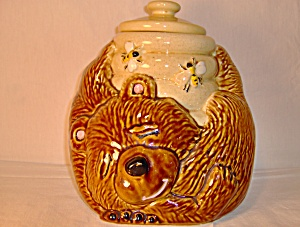 Mccoy Bear And Beehive Cookie Jar