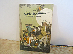 Vintage Childrens Magazine Cricket October 1976