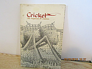 Vintage Childrens Magazine Cricket April 1978