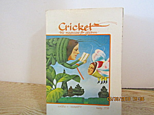 Vintage Childrens Magazine Cricket May 1974