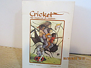 Vintage Childrens Magazine Cricket September 1974