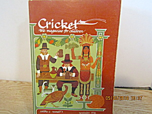 Vintage Childrens Magazine Cricket Nobember 1974