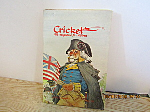 Vintage Childrens Magazine Cricket July 1976