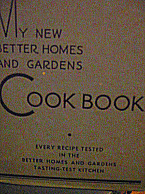 My New Better Homes And Gardens Cookbook