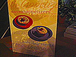 Start With Appetizers And End With Desserts Cookbook