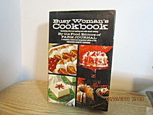 Vintage Farm Journal  Busy Woman's Cookbook (Image1)