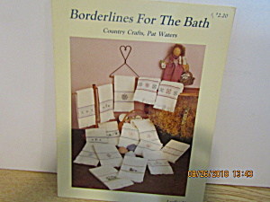 Countrycrafts Crossstitch Borderlines For The Bath #121