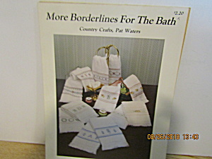Country Crafts More Borderlines For The Bath #123