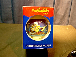 Disney Aladdin Christmas 1995 Ornament