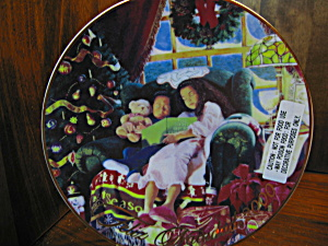 Christmas Dreams Avon Christmas Plate