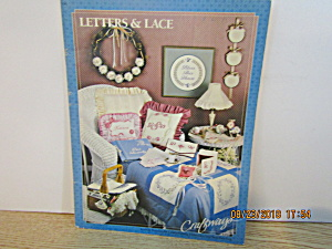 Craftways Craft Book Letters & Lace #1
