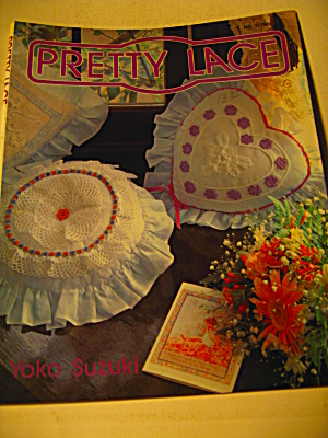 Vintage Crochet Book Pretty Lace