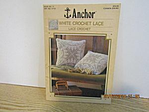 Anchor White Crochet Lace Book  Lace Crochet #11 (Image1)