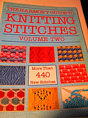 The Harmony Guide To Knitting Stitches Vol 2