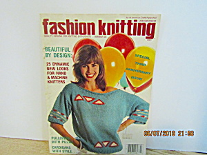 Vintage Magazine Fashion Knitting No.23