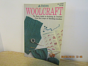 Patons Woolcraft Guide To Knitting & Crochet #17534