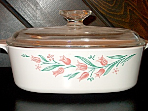 Corning Ware Covered Casserole Rosemarie