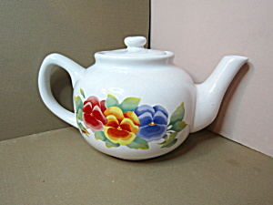 Jay Imports Corelle Pattern Summer Blush Tea Pot