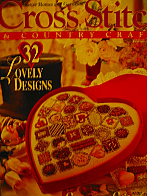 Cross Stitch & Country Crafts Jan/feb 1995