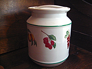 Citation Garden Trellis Cookie Jar/canister