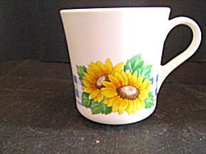 Corelle Sunsations Sunflower Coffee Cup