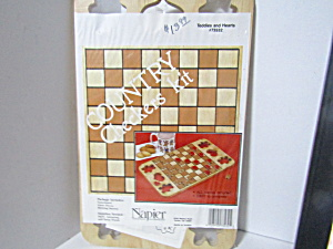 Vintage Napier Country Wood Checkers Kit