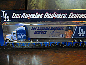 White Rose Los Angeles Dodgers Express Diecast Truck