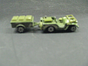 Zylmex T432 Military Jeep With Trailer