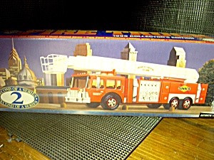 Sunoco Collector's Edition Aerial Tower Fire Truck 1995