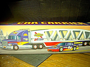 Sunoco Collector's Edition Car Carrier 1999