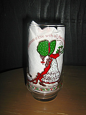 Holly Hobbie Cristmas Glass Christmas Is Love