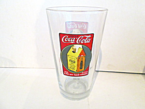 Vintage Coco-cola Glass Advertising 1924 New Carrier