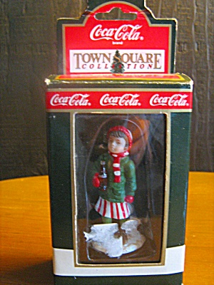 Coca Cola Town Square Collectables Girl After Skating
