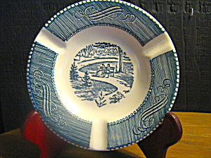 Currier & Ives Ashtray