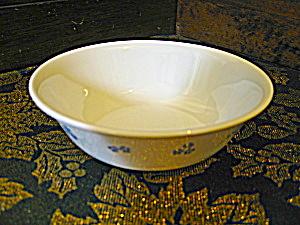 Corelle Forget-me-not Cereal Bowls