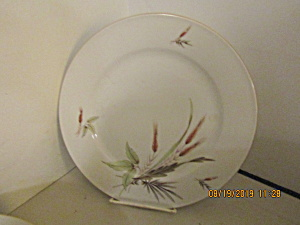 Vintage Victorian Bavaria Wheat China Dinner Plate