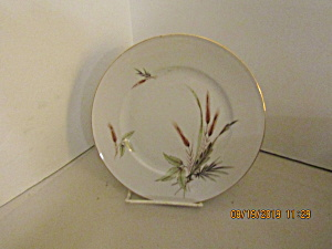 Vintage Victorian Bavaria Wheat China Luncheon Plate