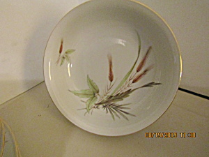Vintage Victorian Bavaria Wheat China Soup Bowl
