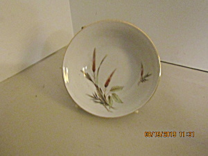 Vintage Victorian Bavaria Wheat China Sauce Dish