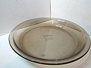 Vintage Amber Corning Pyrex 9 Inch Pie Plate