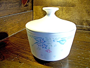 Vintage Corning Ware Symphony Covered Suger Bowl
