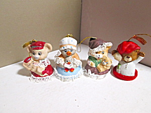 Caring Critter Charmers Hanging Bell Set