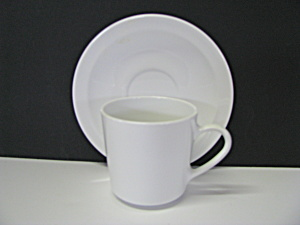 Corning Centura Narrow Rim Cup & Saucer Set