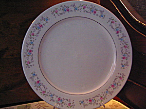 "Dynasty Fine China Rapture 10.5"" Dinner Plate"