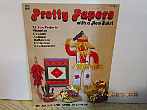 Demis Designs Craft Book Pretty Papers New Twist #222